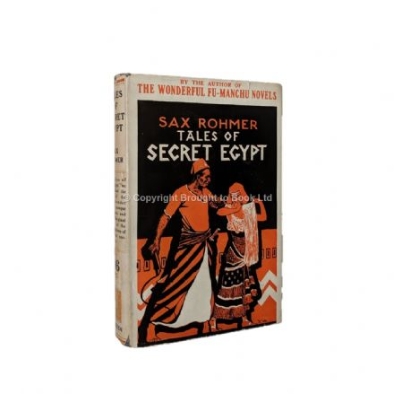 Tales of Secret Egypt by Sax Rohmer Early Reprint Methuen 1933